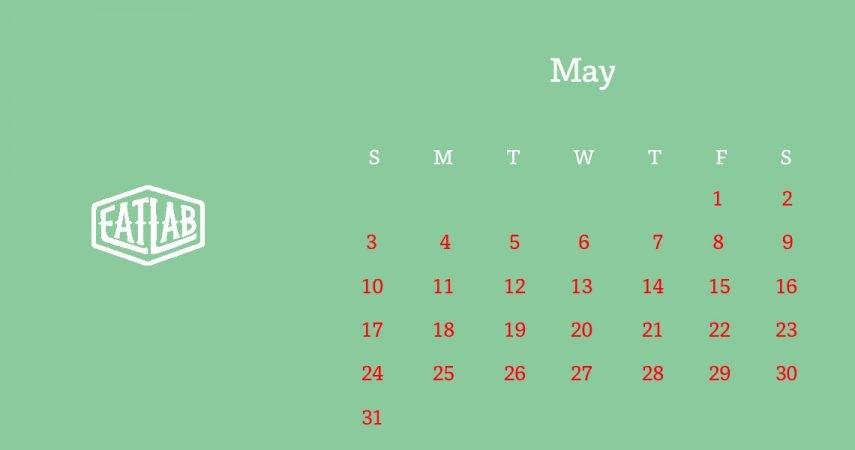 5月の営業日と営業自粛について