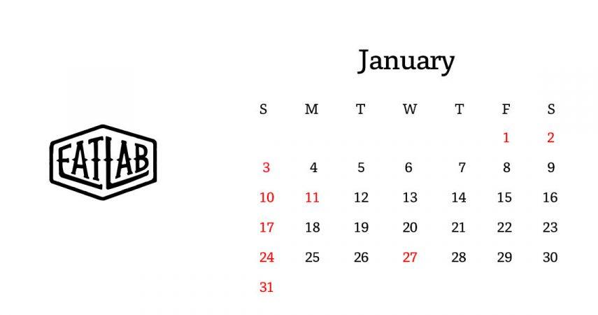 新年のご挨拶と1月の営業日について
