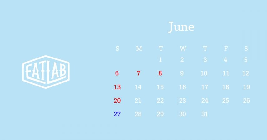 6月の営業について